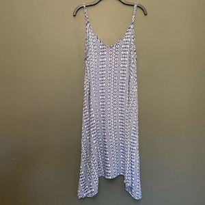 5345586fbd Beach by Exist Blue And White Dress